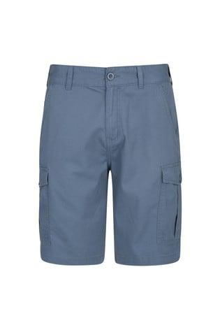 Mountain Warehouse Blue Lakeside Mens Cargo Shorts