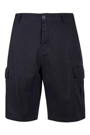 Mountain Warehouse Black Lakeside Mens Cargo Shorts