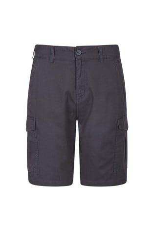 Mountain Warehouse Black & Grey Lakeside Mens Cargo Shorts
