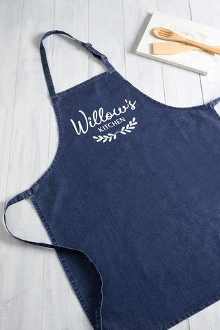 Personalised Adult Apron by Loveabode