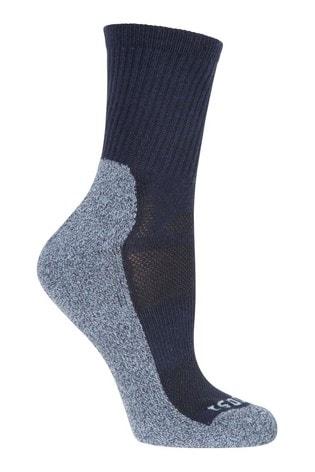 Mountain Warehouse Navy IsoCool Womens Trekker Walking Socks