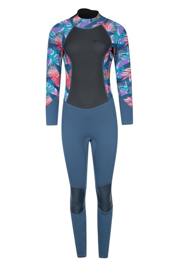 Mountain Warehouse Tropical Printed Womens Full Length Neoprene Wetsuit