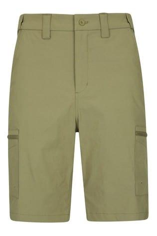 Mountain Warehouse Beige Trek II Mens Walking Long Shorts