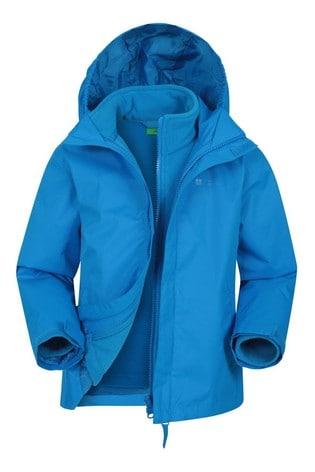 Mountain Warehouse Grey Fell Kids 3 In 1 Water Resistant Jacket