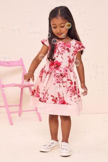 Lipsy Pink Mini Scuba Dress