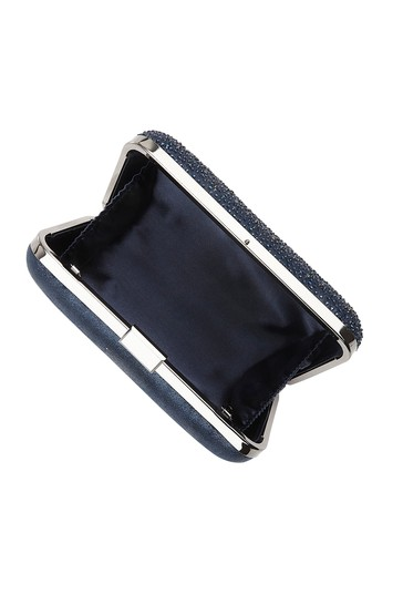 Lotus Footwear Navy Navy & Diamante Clutch Bag