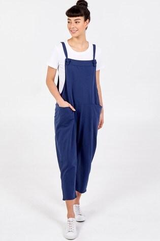 Blue Vanilla Navy Soft Dungarees