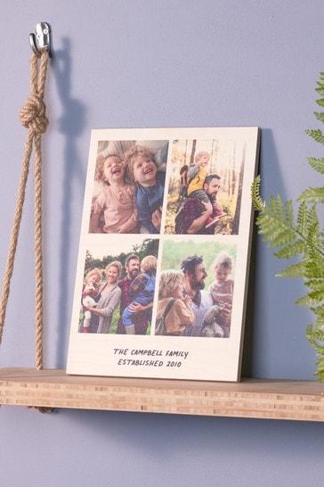 Personalised Birch Photo Print by Oakdene