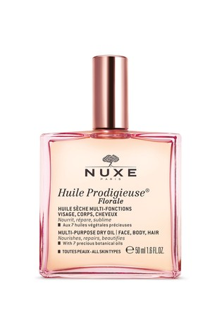 Nuxe Huile Prodigieuse® Florale Multi-Purpose Dry Oil for Face, Body and Hair 50ml