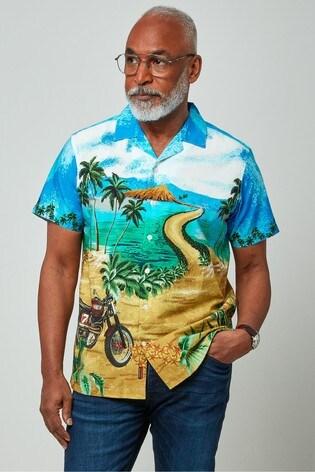 Joe Browns Blue Hit The Sands Shirt