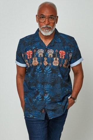 Joe Browns Blue Music At Heart Shirt