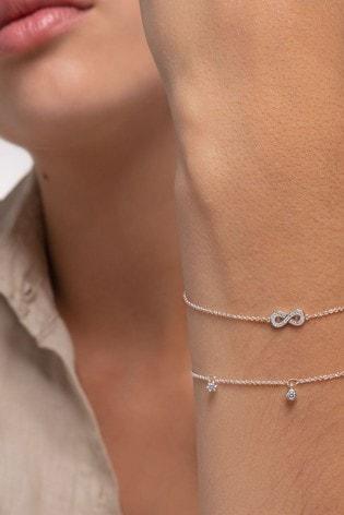 Thomas Sabo Silver Infinity Adjustable Bracelet