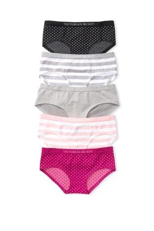 Victoria's Secret Seamless Hiphugger Panties - 5 Pack