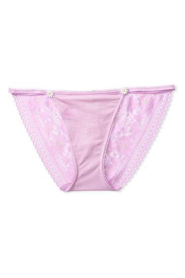 Victoria's Secret Daisy Lace String Bikini Panty