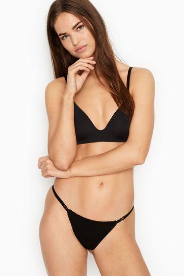 Victoria's Secret Logo Charm V-String Panty