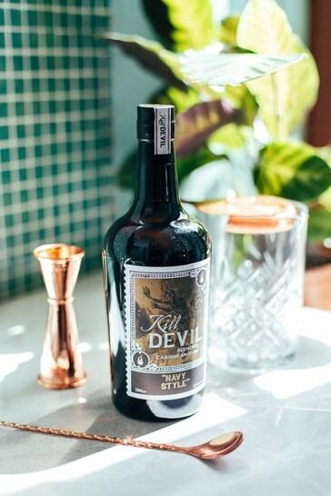 DrinksTime Kill Devil Navy Style Blended Caribbean Rum