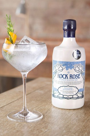 DrinksTime Rock Rose Handcrafted Scottish Gin