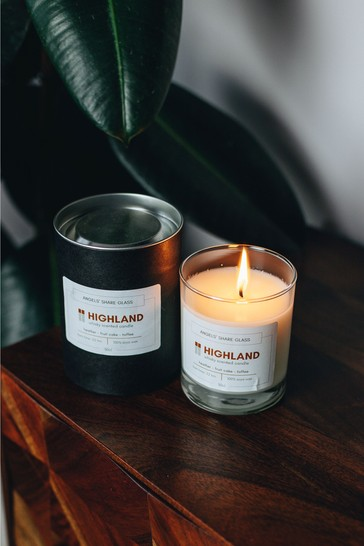 DrinksTime Angels' Share Glass Highland Scotch Whisky Scented Candle