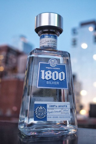 DrinksTime 1800 Silver Tequila Reserva
