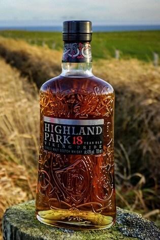 DrinksTime Highland Park 18 Year Old Viking Pride Single Malt Scotch Whisky