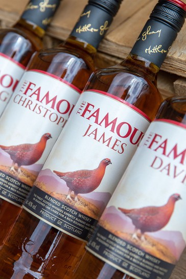 Personalised The Famous Grouse Blended Scotch Whisky by DrinksTime