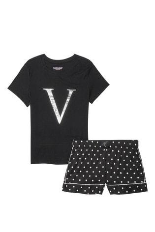 Victoria's Secret Cotton Short Tee-jama