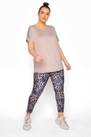 Yours Print Active Printed 7/8 Legging