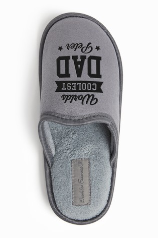 Personalised World's Coolest Dad Slipper by Dollymix