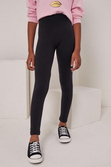 Lipsy Black Basic Jersey Legging