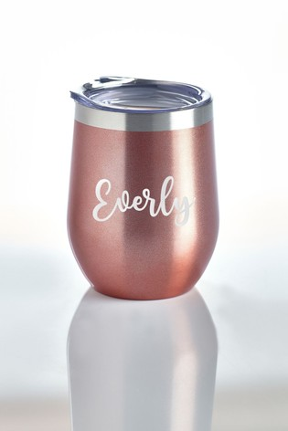 Personalised Insultated Tumbler by Loveabode