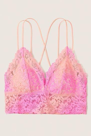 Victoria's Secret PINK Crochet Lace Bralette