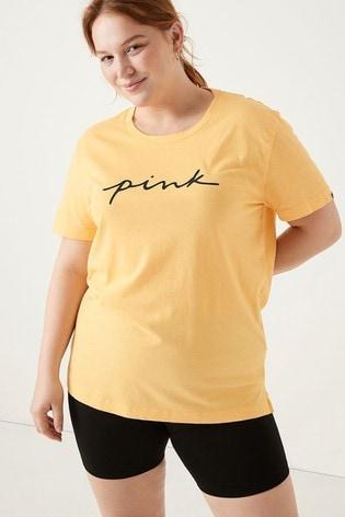 Victoria's Secret PINK Campus Short Sleeve Tee