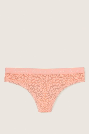 Victoria's Secret PINK Wear Everywhere Lace Thong
