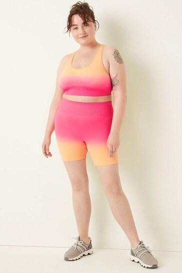 "Victoria's Secret PINK Seamless High Waist 6"" Textured Rib Bike Short"