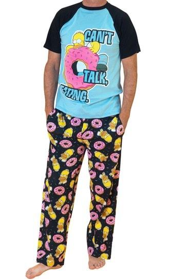 Character Blue Homer Simpsons Donut Pyjamas
