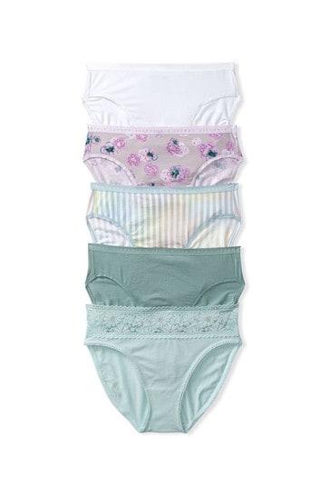 Victoria's Secret Victoria's Secret 5 Pack Cotton Brief Panties