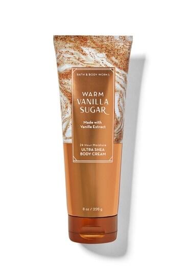 Bath & Body Works Warm Vanilla Sugar Ultra Shea Body Cream 6 g