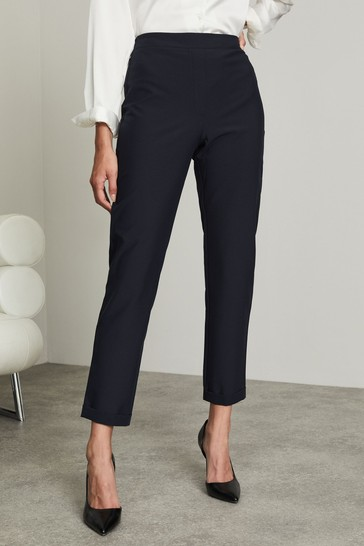 Lipsy Navy Tapered Trouser