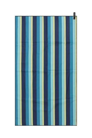 Mountain Warehouse Blue Printed Microfibre Towel - Giant - 150 x 85cm