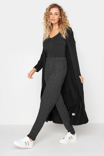 Long Tall Sally Black Printed Harem Trouser