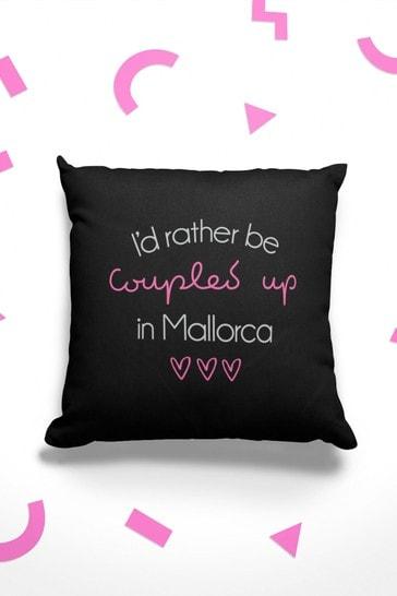 Instajunction Coupled Up Summer Island Love Cotton Cushion