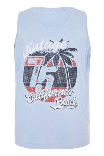 BadRhino Blue Vintage Cali Vest