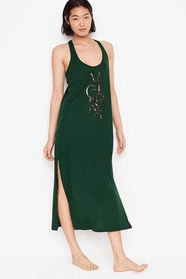 Victoria's Secret Pima Cotton Tank Maxi Sleepshirt