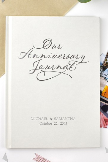 Personalised Our Anniversary Journal by Signature Gifts