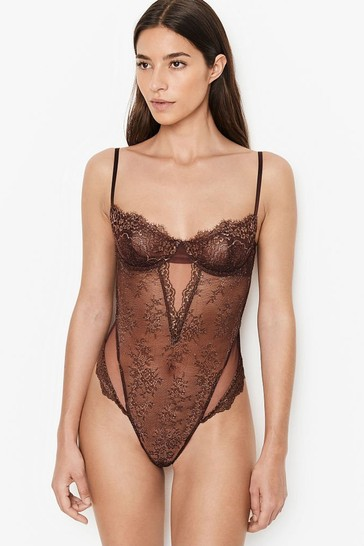 Victoria's Secret Wicked Unlined Shimmer Balconette Body