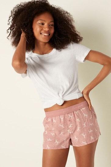 Victoria's Secret PINK Flannel Sleep Boxy