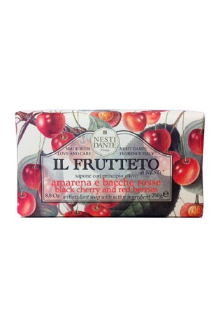 Nesti Dante Il Frutteto Black Cherry & Red Berries Soap