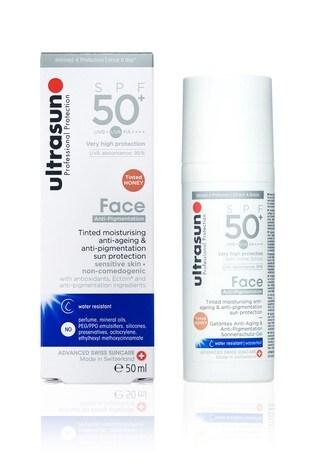 Ultrasun Tinted Anti Pigmentation Face 50+SPF - Honey 50ml