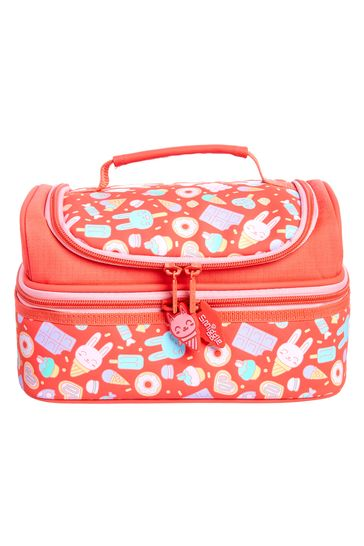 Smiggle Coral Pop Double Decker Lunchbox