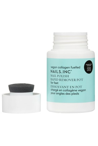 Nails INC Foot Nail Polish Remover Pot 60ml
